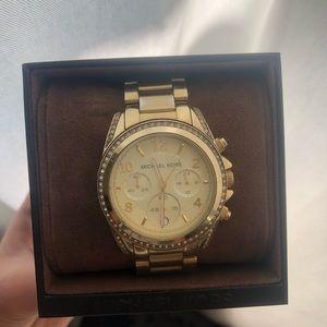 Michael Kors Accessories - Used Michael Kors watch gold